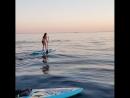 Самый чудесный закат провожали в компании дельфинов!