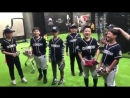 Students from Dogok Baseball Academy singing iKON's Love Scenario but in a different way