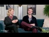 THR studio Robert Pattinson, Mia Wasikowska Talk Riding Horses, Shooting Guns in 'Damsel'
