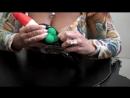 анальный стимулятор с невъебенными кольцами
