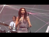 Conchita Wurst (simply the best) Live @ the gay pride 2014 Amsterdam