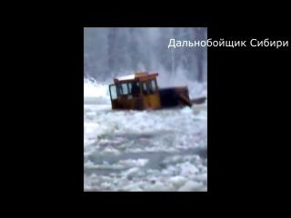 Бульдозер Т-130 Russian bulldozer _ Гусеничный ледокол трактор . Сотка.