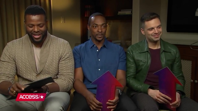 Avengers Infinity War Anthony Mackie, Winston Duke Sebastian Stan Reveal Who Is Most Likely To