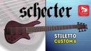 Бас-гитара 6 струн SCHECTER STILETTO CUSTOM-6 VRS