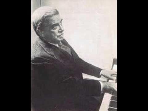 Artur Schnabel plays Schubert Sonata in B flat Major D 960 (1/3)