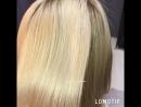 Кератиновое Выпрямление и восстановление волос блондинки Екатеринбург салон красоты