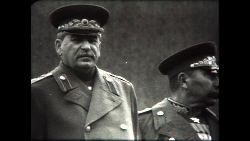Парад победы 1945 г черно белый 48 минут