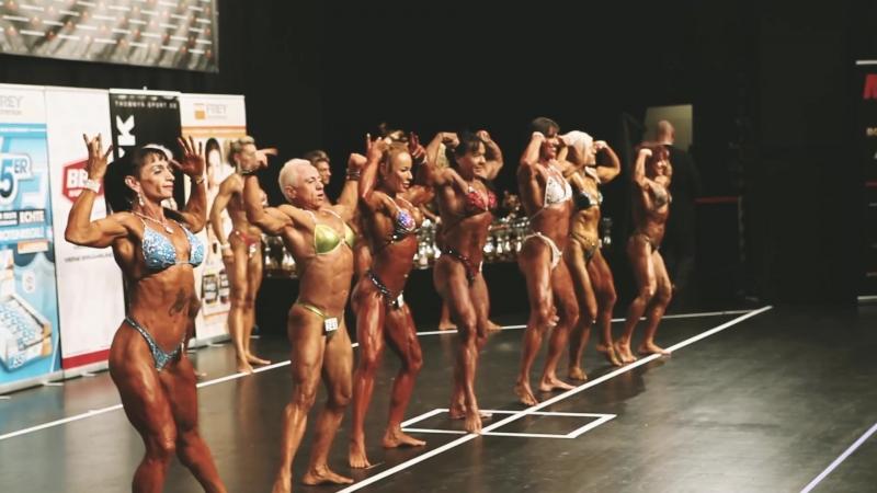 NAC 2017 Hamburg - Marie Silmari - Female bodybuilder -