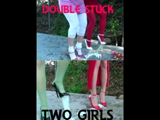 Two girls stuck (more times) - Chloe Creation