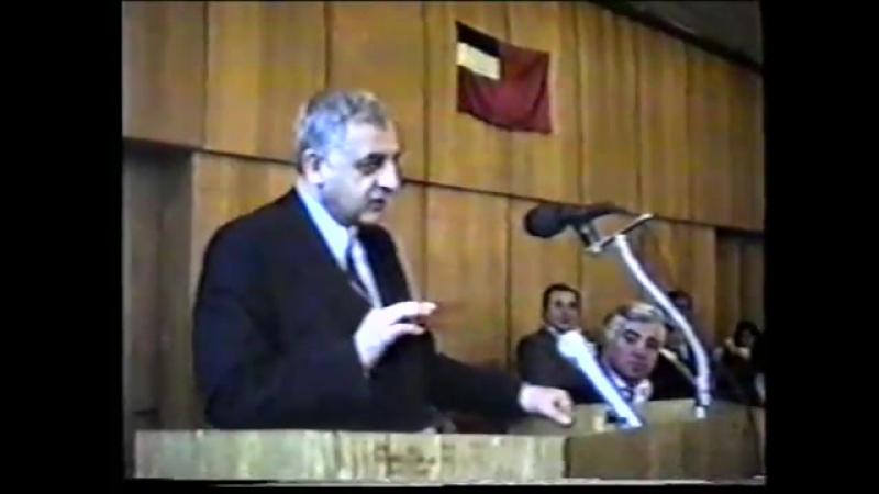 საქართველოს რესპუბლიკის პრეზიდენტ ზვიად გამსახურდიას შეხვედრა ქვემო ქართლის მოსახლეობასთან 1991 წელი