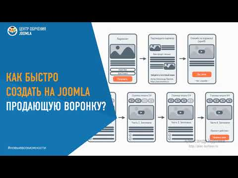 Как быстро создать продающую воронку на CMS Joomla Александр Куртеев