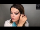 Яркий макияж глаз и губ Видео от бренд визажиста FACE nicobaggio professional make up Ксении Мельницкой