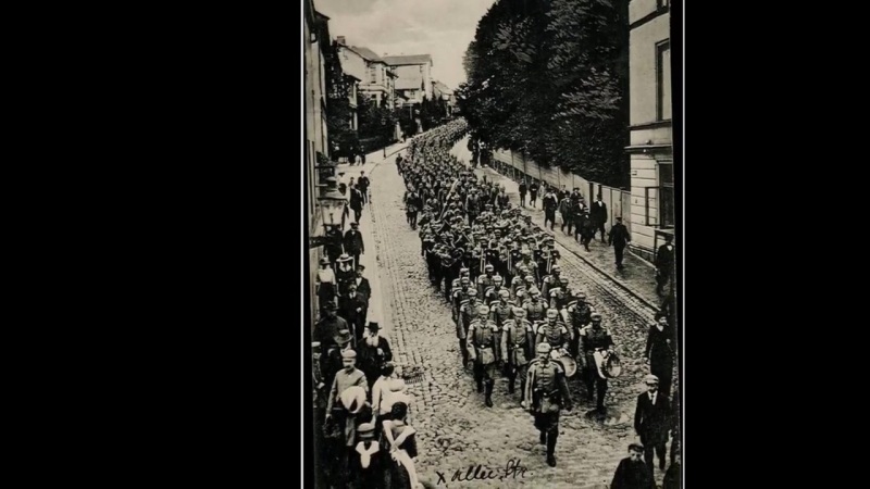 Deutsches Soldatenlied -Muss i denn zum Städtele hinaus-