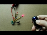 DC3V-5V 2CH Latched Power Saving Mini Remote Switch