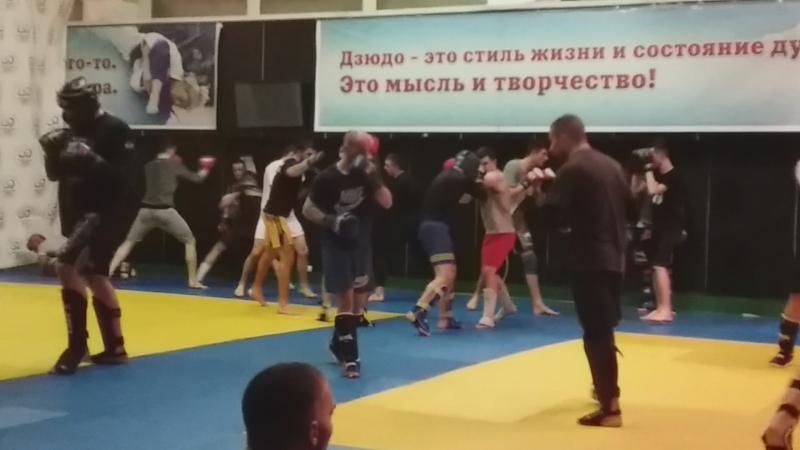 СПАРРИНГИ на РСК Олимписком