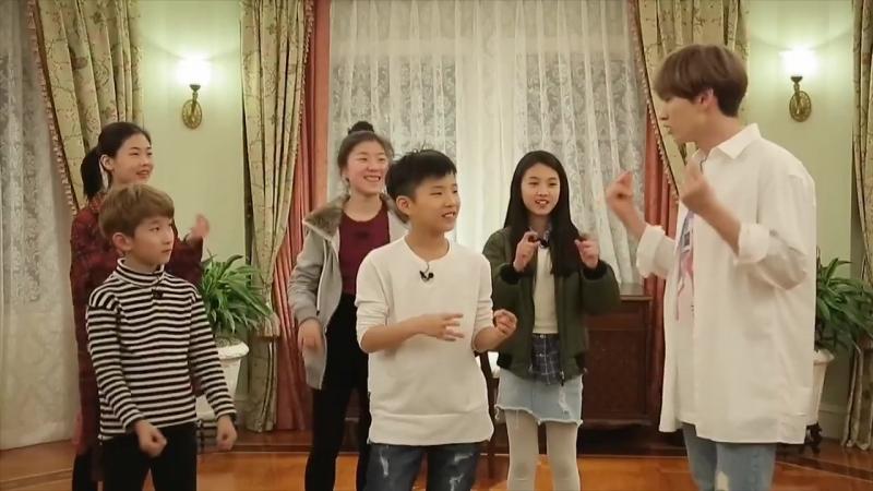180219 отрывок из программы idol moms с Итуком и Ынхёком