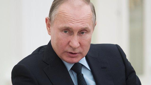 Мэй обратилась к Путину