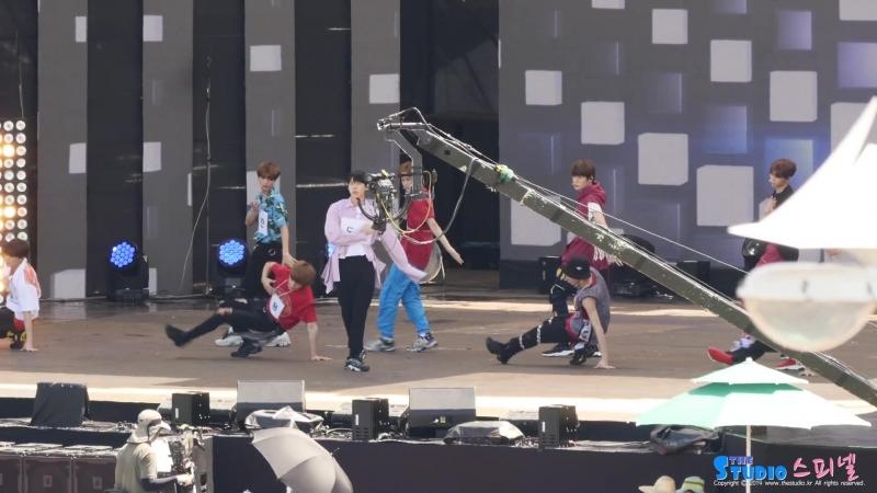 180723 NCT 127 - TOUCH @ MBC Music Core Ulsan Summer Festival 2018 Fancam (Rehearsal)