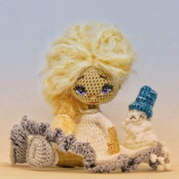 вязаные куклы мастер классы и схемы вконтакте