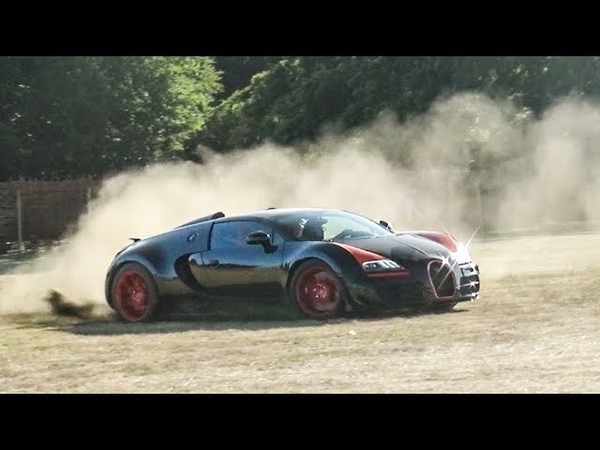Bugatti Veyron WRC RALLY STAGE! CRAZY DRIFTING AND 0-150 mph LAUNCH!!