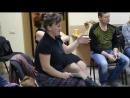 Результат Елены уже на полутарочасовом семинаре - звучание до и после индивидуальной работы с Милославскими