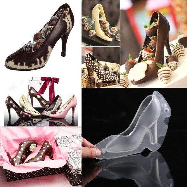 Форма для приготовления шоколадной туфли 248