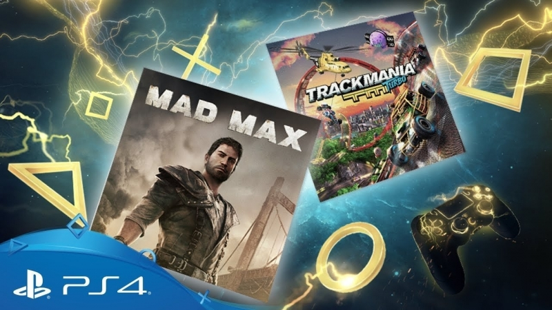 PlayStation Plus - April 2018 Mad Max Trackmania Turbo PS Plus Monthly Games