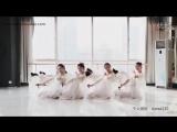 Традиционный китайский танец «Цветы под дождём» («雨中花»)