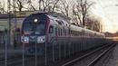 Дизель-поезд ДР1АЦ-185/187 на ст. Огре / DR1AC-185/187 DMU at Ogre station