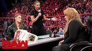 Ronda Rousey vows to take Nia Jaxs arm and her title Raw, May 21, 2018
