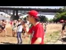 KFF - Гроза (prod. by PRAY) - Live видео с выступления на Водной Битве 2018, Новосибирск, пляж Наутилус