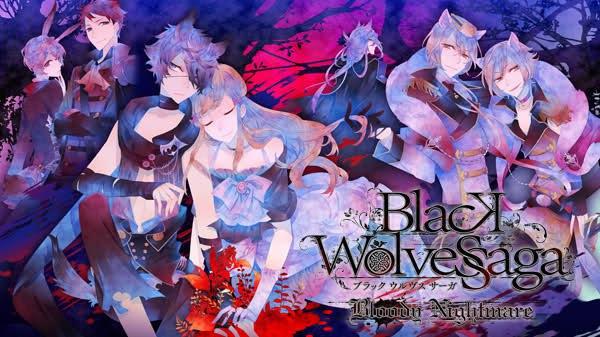 Вышел русский перевод отоме игры Black Wolves Saga -Bloody Nightmare-.
