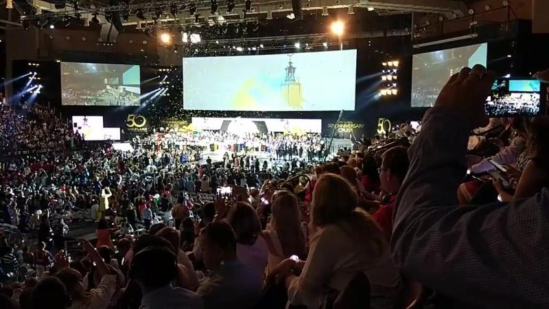 Поздравление новых Бриллиантовых Директоров. Юбилейная Конференция Орифлэйм
