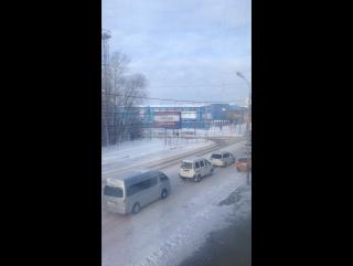 Мы в Хабаровске . Здесь зима!! И 5 часов разницы!