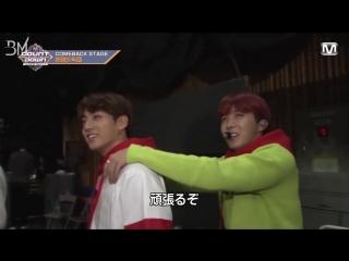 [RUS SUB][16.10.17] BTS @ M!Countdown Japan Backstage