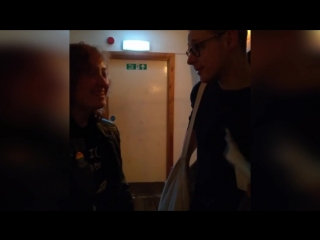 Kiss Of The Spider Woman, stage door, 11.03.18