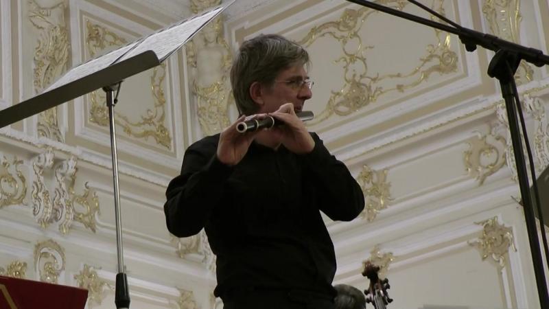 Benedek Csalog. Quantz. Concerto for flute in G major n. 161.