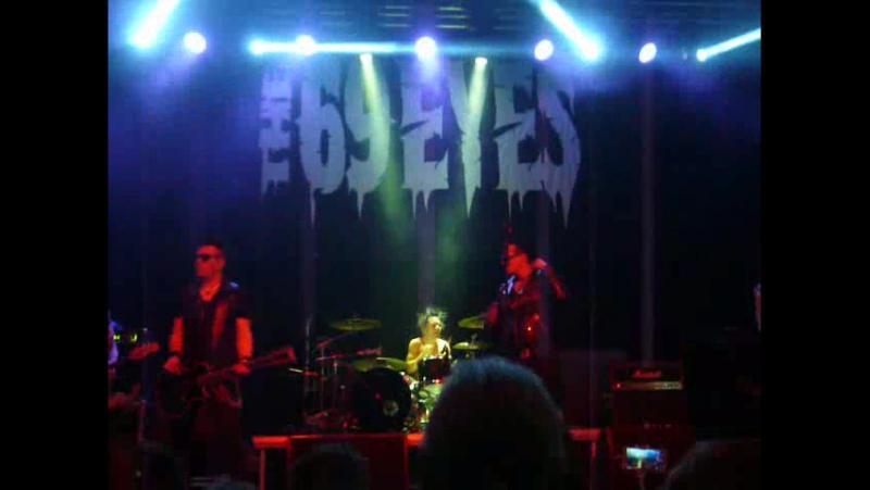 The 69 eyes - Gothic Girl / Live in Krasnodar 21.10.2017