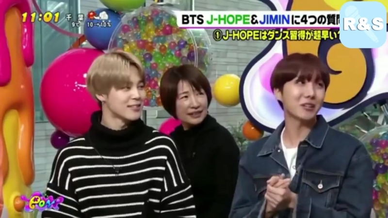 [ Озвучка RS ] BTS JIMIN J HOPE LIVE PON Japanese Interview
