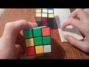 Как собрать кубик Рубика 3×3.Часть 2/7Первый слой