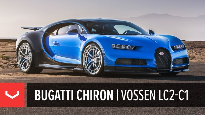 Bugatti Chiron | Vossen Forged LC2-C1 Wheels