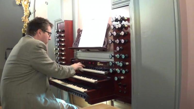 916 J. S. Bach / S. Karg Elert - Toccata in G major, BWV 916 - Denes Kapitany