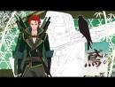 Трейлер короткометражного аниме Tenka Tōitsu Koi no Ran ~ Shutsujin Saika 4 nin Shū