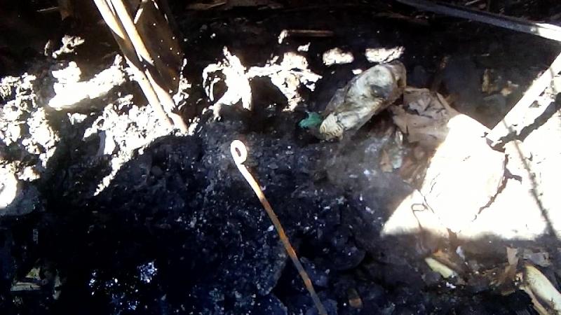 3) Сгорел рынок в городе Щёлкино 21.05.2018 - 16:00 всё ещё дымит