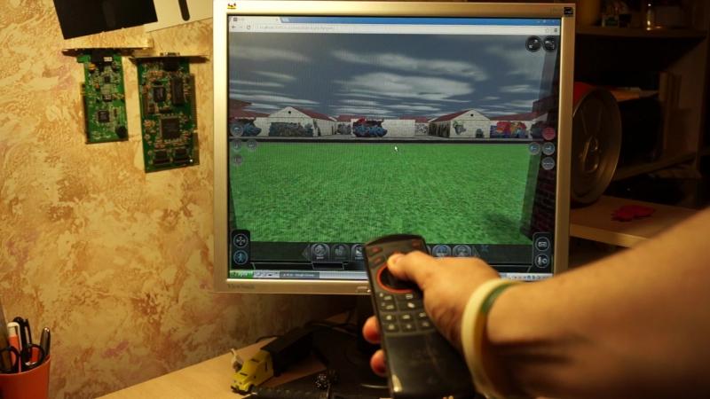 Виртуальный мир с Rii i25A
