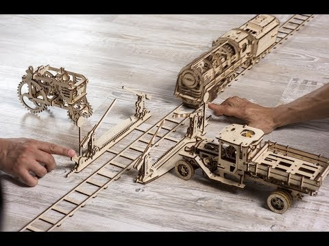 Ugears Mechanical 3D models Amaze the World. TV Story on UA|TV