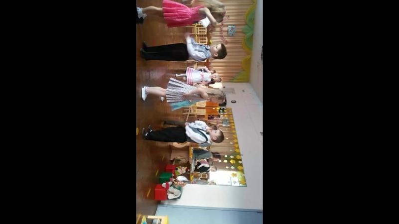 Утренник в детском саду Лизы