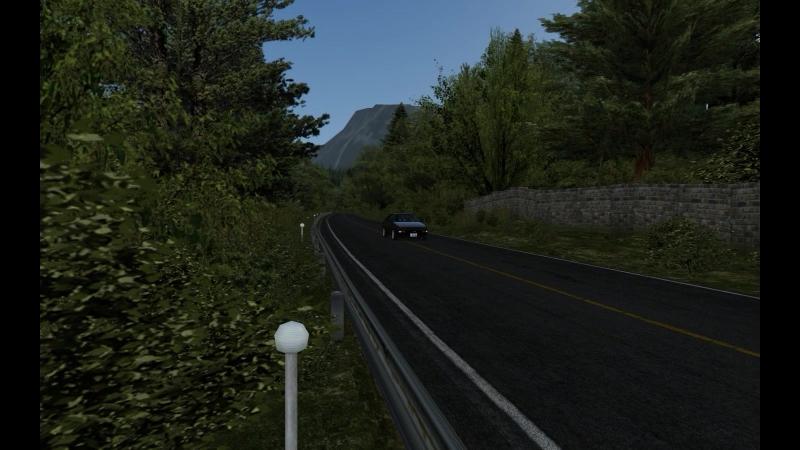 Akina AE86 fail run