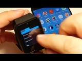 Как настроить умные смарт часы GT08 gt08 DZ 09 A1 Smart Watch
