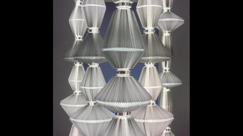 Кинетическая инсталляция от архитектурной студии liten_fab